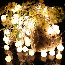 Wholesale Ceiling Lamp Outdoor - LED Warm White String Fairy Wedding Light Lamp Xmas Party Wedding Decor Twinkle Light Battery Light Led Outdoor Llighting LED Ceiling Light
