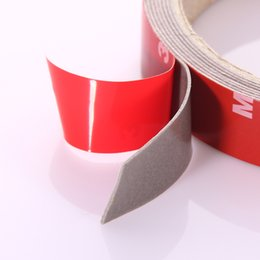 Wholesale Mirror Adhesive Tape - 2.5M X 10mm 3M X 20mm Car Sticker Double Foam Faced Adhesive Tape Auto Sticker Multi-functional Car Accessories Car-styling HOT