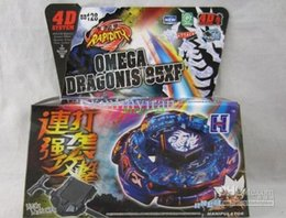 Wholesale New Beyblade Sets - New listing DEATH QUETZALCOATL 125RDF BB119 Beyblade Metal Fusion 4D Top gyro Set masters 24 Styles