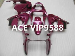 Wholesale Pink Kawasaki Fairing Kits - 3 gifts Motorcycle Fairing kit for KAWASAKI Ninja ZX9R 00 01 ZX 9R 2000 2001 zx9r 00 01 ABS Compression mold Fairings set Pink N15