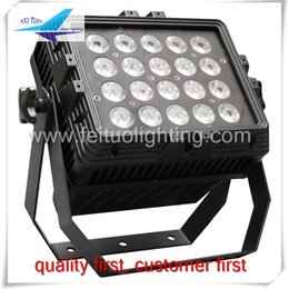 Wholesale China Outdoor Equipment - (10 lot)China dj equipment led flood light 20*15w rgbwa 5in1 outdoor led lights wall