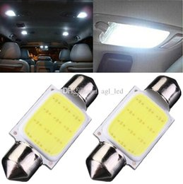 3W Car Bulbs Car Auto Festoon Dome COB Blanco Interior Luces LED Lámpara de Techo Lámpara de Lectura DC12V desde fabricantes