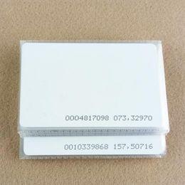 Chip card online-1000pcs / lot TK4100 4102 / EM 4100 chip RFID 125 KHz tarjeta en blanco Thin PVC ID Smart Card