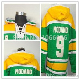 Wholesale Cheap Hoodie Free Shipping - 2016 Cheap Mike Modano Hoodie Dallas Hockey Hoodie Men's Stitched Ice Hockey Hoodie Free Shipping