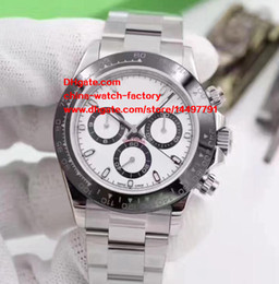Wholesale Mechanical Chronograph Watches - 6 Color Luxury AAA+ Quality Watch 40mm Cosmograph 116506 116520 116509 116500 116500LN No Chronograph Mechanical Automatic Mens Watches
