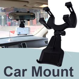 gps cradle holder Rabatt Autohalterung Autohalterung für Rückspiegelhalterung für das iPhone X / 8/8 plus Samsung GPS / PDA / MP3 OTH686