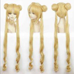 Wholesale Sailor Girl Cosplay - 100% Brand New High Quality Fashion Picture wigs>>Girl Sailor Moon Cosplay Costumes Wig Tsukino Usagi And Princess Serenity wig