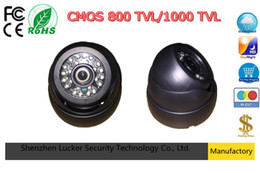 Wholesale Dome Full - CCTV Camera 800TVL 1000TVL IR Cut Filter 24 Hour Day Night Vision Video Infrared 10m Indoor Analog Dome ABS BNC free shipping