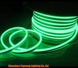 Bobina 50m bassa tensione 12v mini corda luce al neon 8,5x17mm 2835 SMD striscia super luminosa impermeabile per esterni multi colori da