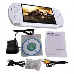 Wholesale Game Video Cameras - Hot sales! 4GB 4.3 Inch PMP Handheld Game Player MP3 MP4 MP5 Player Video FM Camera Portable Game Console