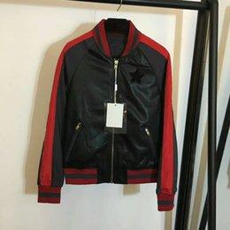 Wholesale Short Leather Jacket Woman Fashion - 2017 Autumn Fashion Bomber Jacket Women Long Sleeve Basic Coats Casual Thin Slim Outerwear Short Pilot Bomber Jackets