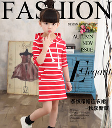 Wholesale Elegant Lace Knee Length - 2016 Summer Hot sale princess Cute Vest Dress Fashion Cute Printed Girls elegant printing Kids gilr Dresses retail good quality