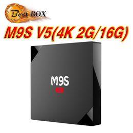Wholesale Phoenix V5 - 2GB+16GB quad core rk3229 m9s V5 android 6.0 ott tv box pre-loaded KD17.3 phoenix Exodus add-ons quad core 2gb Bluetooth VS T95Z PLUS