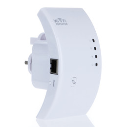 Wholesale High Range Router - High Quality Wifi Repeater Wireless 802.11N B G Network Router Range Expander 300M Antenna Signal Booster AP Wifi Router