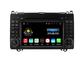 Wholesale Mercedes Vito Dvd - 7'' Quad Core Android 5.1.1 Car DVD Player For A-class W169 A150 A170 (2004-2012) B-class W245 B170 B200 (2004-2012) Viano Vito