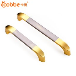Wholesale Stainless Steel Door Knob Handles - Simple Modern Door Handle Drawer Cabinet Door Pull Cabinet Wardrobe Knob
