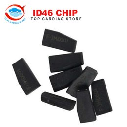 Wholesale Transponder Key Id46 - Wholesale-10pcs lot ID46 Chip for CBAY Hand-held Car Key Copy Auto Key Programmer ID 46 Chip ID46 Transponder Chip Free Shipping