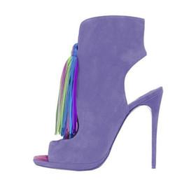 Wholesale Ballet Boot 11 - 2016 Fashion Bridal Wedding Shoes Cheap Modest Sexy Tassel Size Zipper Peep Toe Ladies Party Shoes Bridal Accessories Party Shoes Plus Size