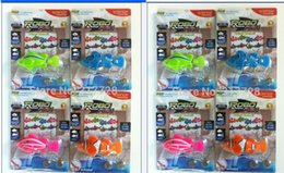 Wholesale Magical Fishes - 1 lot 8 piece Magical novel Robot Fish Activated Turbot Electronic Pets Toys Electric Robofish Swimming Clownfish