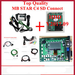 Wholesale french board - 2017 Mb Star C4 SD Connect with HDD 09 2017V Latest mb star c4 Xentry Vediamo full chip mother board