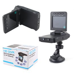 Wholesale Hd Portable Car Dash Camera - HD Portable DVR With 2.5 TFT LCD Screen 500w pixels Car DVR 1080P Dash cams Video Recorder camera cycled recording night version