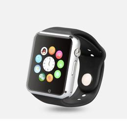 Canada Montre intelligente A1 avec la caméra de carte SIM Bluetooth Smartwatch pour Android ISO apple huawei Appareils portables Whatsapp Facebook Offre