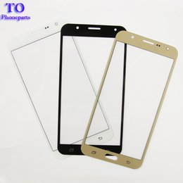 touchscreen digitizer glass replacement Coupons - 10PCS Touch Screen Replacements For Samsung Galaxy J5 J500 7 J700 2015 Version Digitizer TouchScreen Front Outer Glass Lens