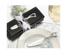 "Wholesale Butter Knife Wedding Favors - DHL free shipping ""spread the love"" stainless steel maple leaf butter knife wedding favors for guest 200pcs lot"