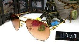 Wholesale Eyeglasses Luxury For Men - 2017 luxury brand designer aviator sunglasses for men unisex retro oversized eyeglasses red black clear lenses sunglasses with box