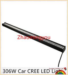 2019 led-lkw-arbeitsleuchten 2016 306 Watt 102x3 Watt Auto CREE LED Lichtleiste als LED Arbeitslicht Flutlicht 60 Grad led auto für Bootfahren Jagd Angeln