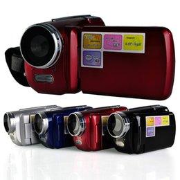 Wholesale Dv139 Digital Video Camera - 4 Colors DV139 digital video camera 1.8 inch TFT LCD 4X Zoom 1.3MP with LED Flash Light Camcorder Mini DV