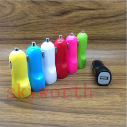 Wholesale Nipple Adapter - Duckbill Car Charger 2 PortS Cigarette 2.1A Chargers Micro Dual USB Adapter Flash Nipple Dual USB Port for Phone & Pad