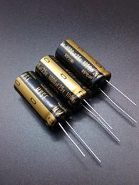 Wholesale Nichicon Electrolytic - Wholesale- 30PCS Nichicon KZ 1000uF 25V genuine stock 1000uf 25v audio import for capacitance free shipping