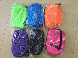 Wholesale Camp Chairs Wholesale - Newest Lounge Sleep Bag Lazy Inflatable Beanbag Sofa Chair, Living Room Bean Bag Cushion, Outdoor Self Inflated Beanbag Furniture DHL free