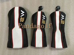 Wholesale Tops M2 - top quality Golf Woods Set Clubs M2 Driver M2 Fairway wood #3#5 head cover golf woods headcover