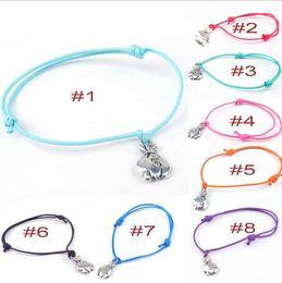 Wholesale Bohemian Purses - Bracelets for women NEW Jewelry metal purse Pendant Retro rope chain friendship bracelets charm gift Children Bracelets popular