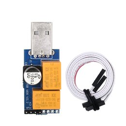 Wholesale Module Usb - Doubel Relay USB Watchdog Card module Automatic Restart IP Electronic Watchdog 2.0 Timer Reboot Lan For Mining Gaming Computer PC