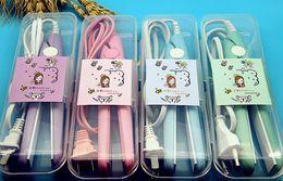 Mini plancha para enderezar el cabello planchas Wand Curler Irons Cerámica electrónica lon Styling Tools Peinados regalos de navidad desde fabricantes