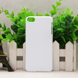 Wholesale Plastic Iphone 5c Cases - DIY 3D Blank sublimation Case cover Full Area Printed For iphone X 8 4 4s 5s 5c SE 6 6S 6 PLUS 7 7 8 PLUS Galaxy s8 s8 plus 100pcs lot