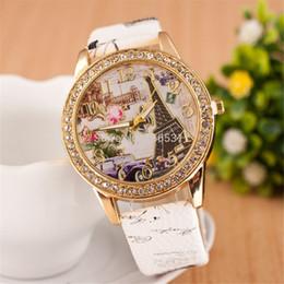 Nuevo Sloggi envío gratis Relojes de cuarzo reloj de pulsera de las mujeres Reloj clásico banda, reloj de estilo Vintage reloj de la torre de diseño de moda desde fabricantes