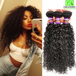 Wholesale Tangle Free Curly Hair Weave - Cheap Brazilian Virgin Hair 3Bundles Deal Brazilian Afro Kinky Curly Human Hair Weave Grade 8A Brazilian Kinky Curly Hair Bundle Tangle Free