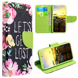 Wholesale Girly Iphone Covers - Leather Cell Phone Back Cases Cover For Samsung S7 Edge S8 Apple iPhone7 8 X Or Plus Girly Lady Colorful Fashion Mobile Protective