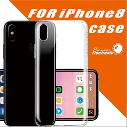 Wholesale Iphone Case Transparent Tpu - For Iphone X 8 7 S8 plus Samsung S7 0.5MM Crystal Gel Case for iPhone 6s Plus Ultra-Thin transparent Soft TPU Cases Note 8 Clear Cases
