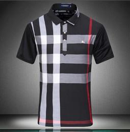 Wholesale Male Polo Shirts - New Fashion Men's Polo T-Shirt Male Casual short sleeves Tee Brand Man base shirt Tops