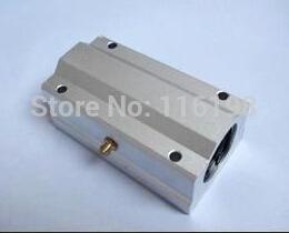 Wholesale Linear Bearing Wholesale - Wholesale- SCS20LUU SCS20UU SCS20 LM20LUU 20mm Longer Linear Motion Ball Bearing Slide Bushing Linear Shaft for CNC