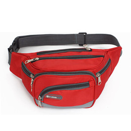 Wholesale Cash Register Wholesale - New Causal Sports Waist Bag Nylon Travel Cash Register Mulit Function for Men and Women Belt Bag