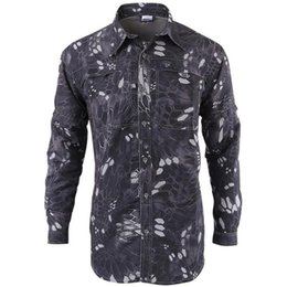 removable collar shirt Coupons - Summer Autumn Brand Tactical Fishing Gear Quick Dry Shirt Men Breathable Soft Removable Long Shirt Divisions Army Shirt Free Shipping