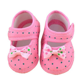 Wholesale Booties For Newborns - Wholesale- ROMIRUS Baby Girl Shoes First Walkers Bowknot Booties Sneakers for Newborns Kids Children Shoes Footwear Infantil Menina