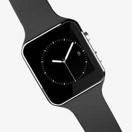 Deutschland Freies verschiffen 1x Bluetooth Smart Watch sportuhr Für Apple Android system Mit Kamera FM Unterstützung SIM Karte Versorgung