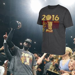 Wholesale Lebron T Shirts - Wholesale-Men's CAVS T Shirt All In 2016 Basketball Tops Tee LeBron James Kyrie Lrving Tshirts Cotton Short Sleeves Sprotswear